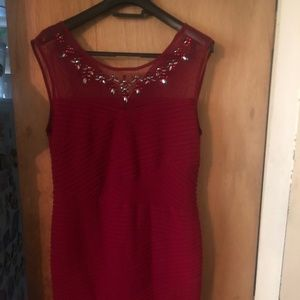 Lady's Red Dress